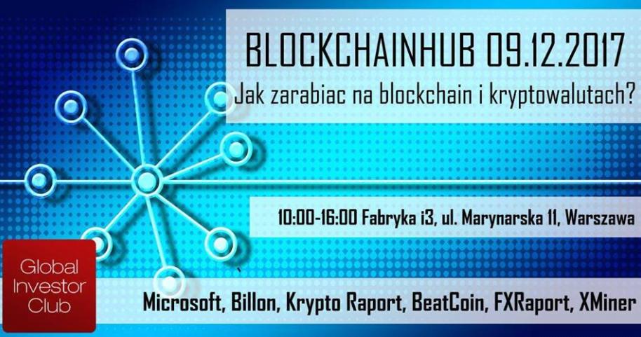 BlockchainHub - jak zarabiać na blockchain i kryptowalutach