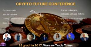 Crypto Future Conference @ Warsaw Trade Tower, Golden Floor | Warszawa | mazowieckie | Polska