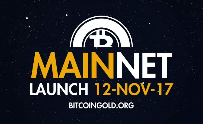 bitcoin gold start