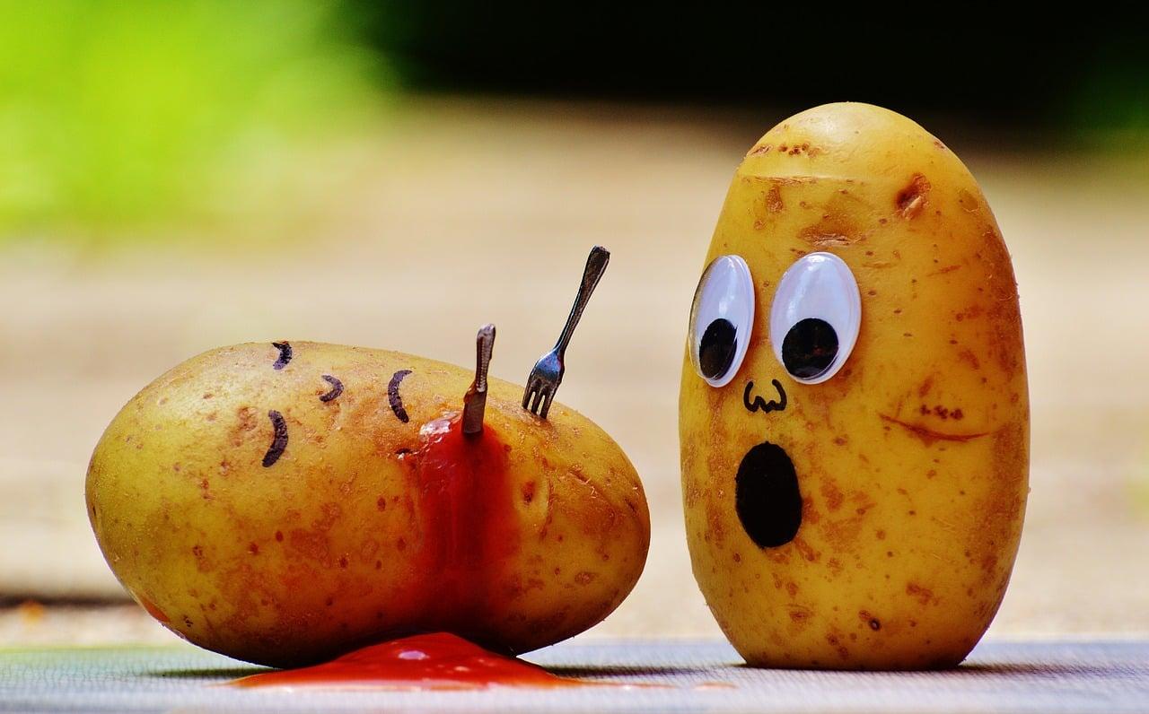 ziemniaki fork