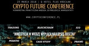 Crypto Future Conference @ Q Hotel Plus Wrocław | Wrocław | Województwo dolnośląskie | Polska