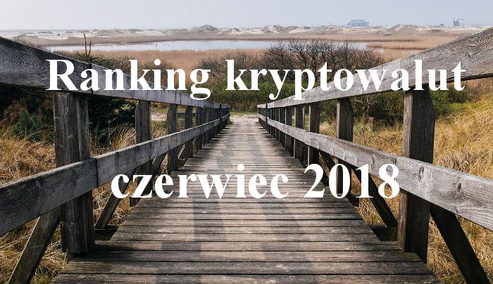 Ranking kryptowalut czerwiec 2018