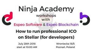 Jak uruchomić profesjonalne ICO na Stellar (dla programistów) @ Espeo Poznań | Poznań | wielkopolskie | Polska