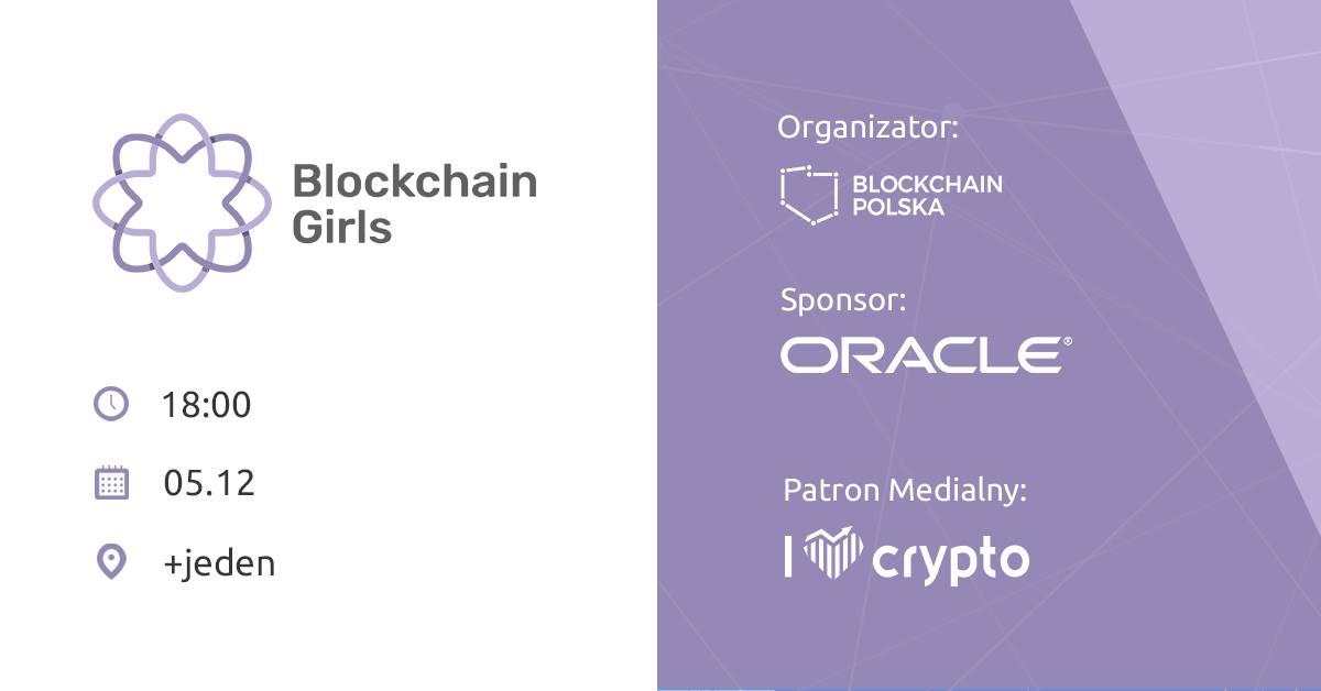 blockchain girls poznań