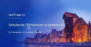 "Szkolenie ""Ethereum w praktyce"" @ Olivia Business Centre Gdańsk | Gdańsk | pomorskie | Polska"