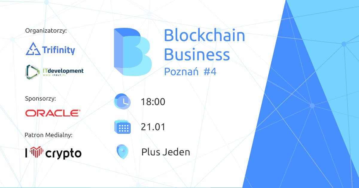 blockchain business poznań