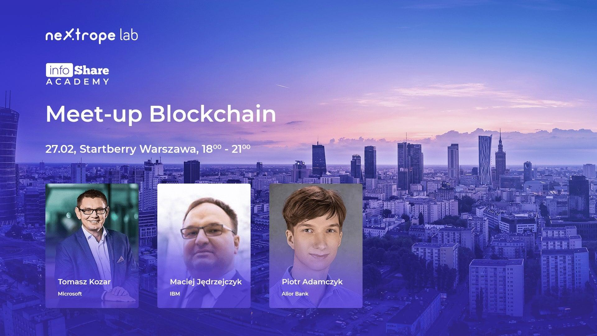 blockchain warszawa dla programistów