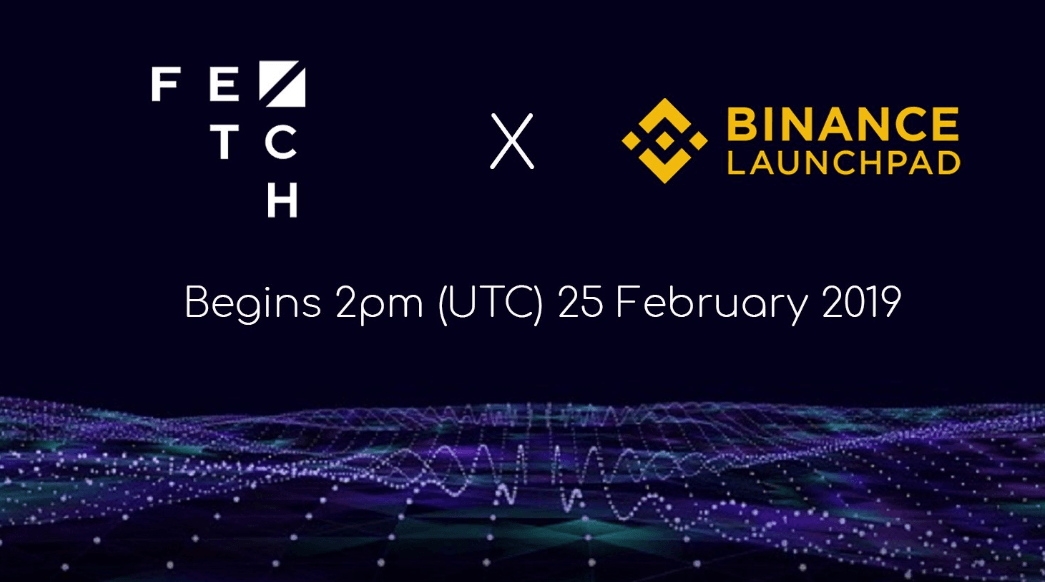 fetch.ai binance launchpad ico