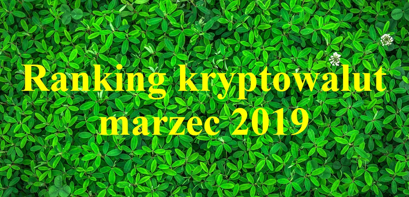 ranking krypto marzec 2019
