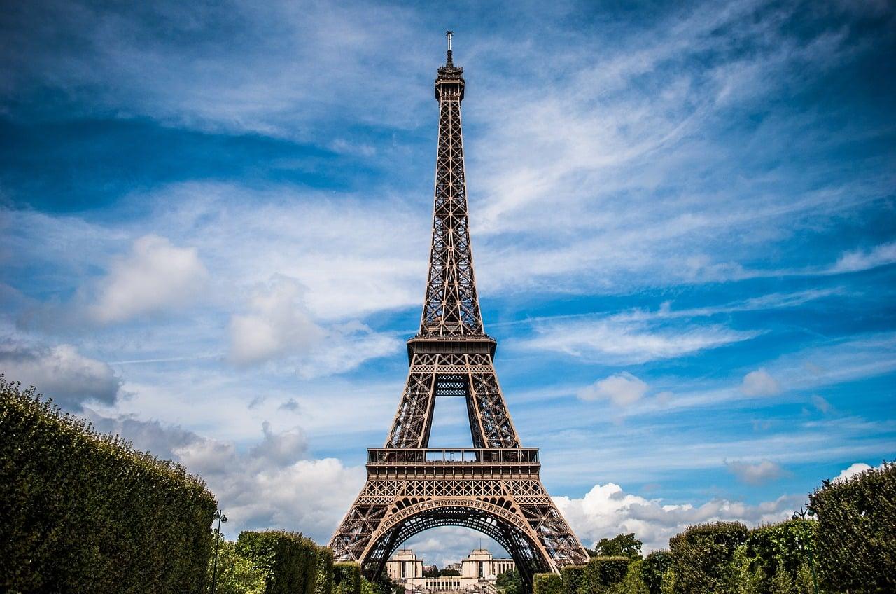 francja eiffel-tower