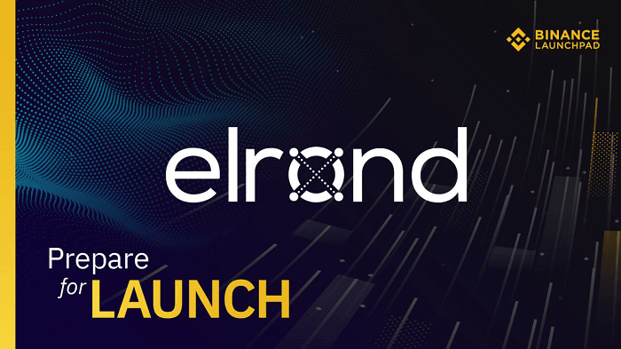 elrond binance launchpad