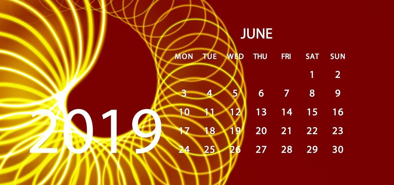 june calendar crypto
