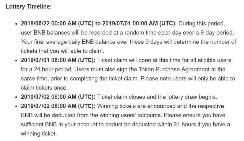 loteria binance