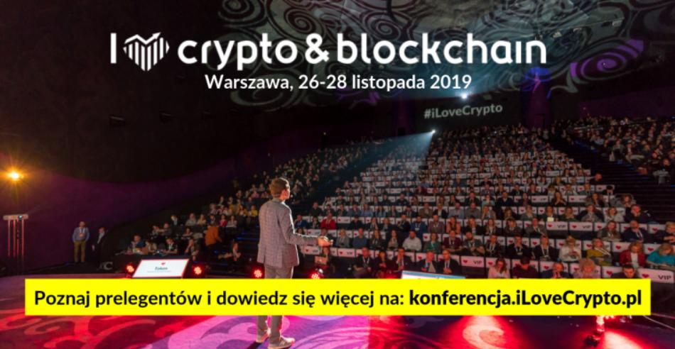 I Love Crypto & Blockchain - Konferencje w Warszawie, 26.11.2019 - Evenea.pl