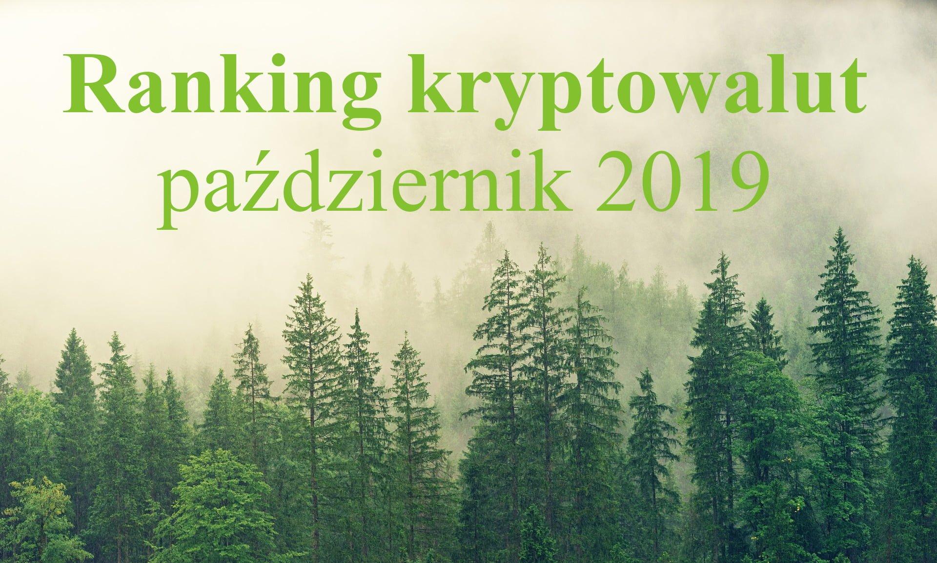 ranking krypto pazdziernik 2019