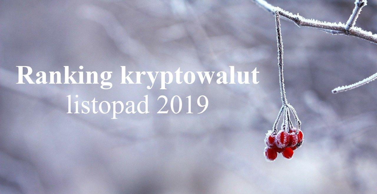 ranking krypto listopad 2019