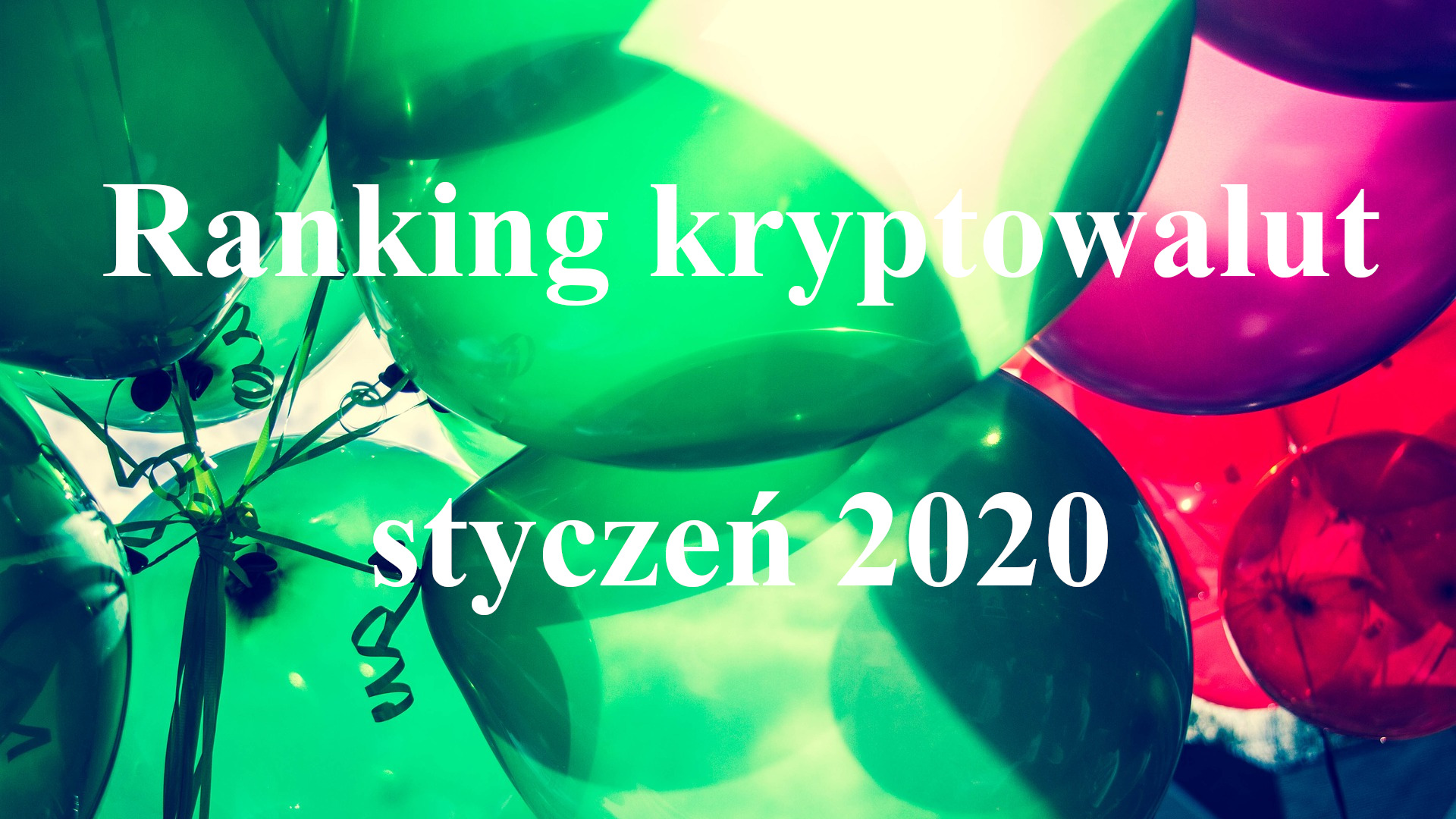ranking krypto styczeń 2020