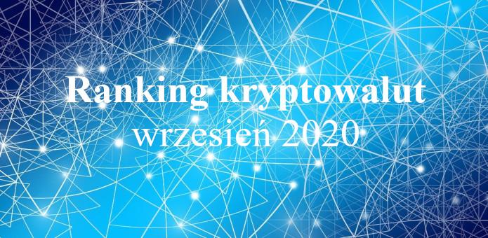 ranking krypto wrzesień 2020