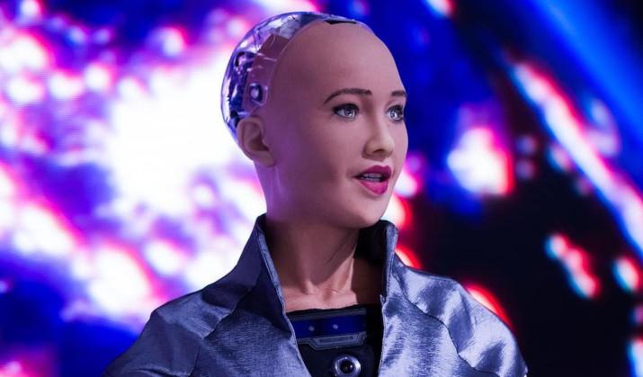 Sophia robot nft