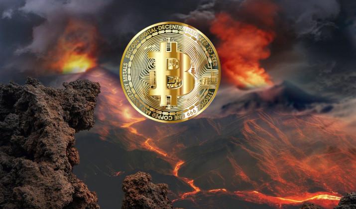 Salwador użyje energii z wulkanów do kopania Bitcoina