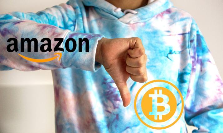 amazon nie zaakceptuje bitcoin