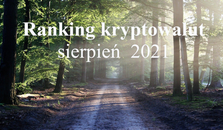 ranking krypto sierpień 2021
