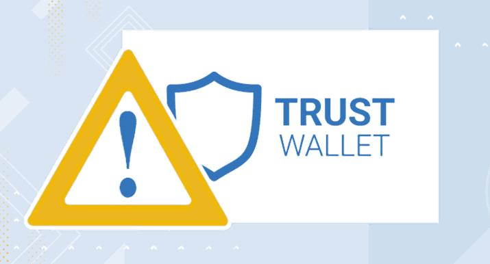 Uwaga! Ataki phishingowe na Trust Wallet